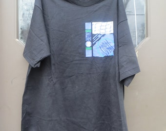 Vintage Nike Challenge Court Andre Agassi  100% cotton T-Shirt sz  large