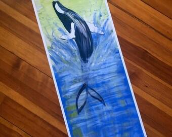 Joyous Whale Archival Print