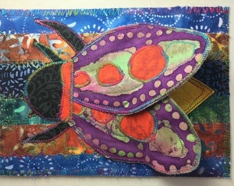 Superfly Firefly 3-D fabric postcard one if a kind