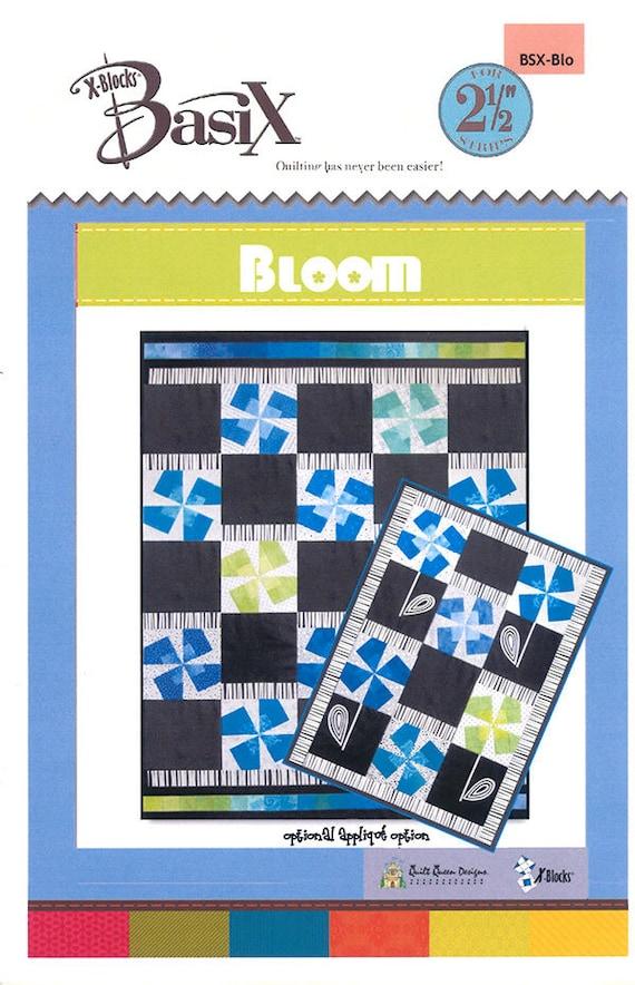 bloom quilt pattern x blocks basix pattern jelly roll quilt pattern basix template pattern. Black Bedroom Furniture Sets. Home Design Ideas