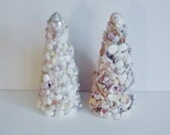 Seashell Trees, Beach Wedding Decor, Seashell Christmas Tree, EACH