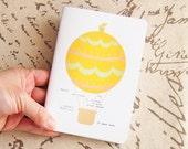Hot Air Balloon Pocket Notebook