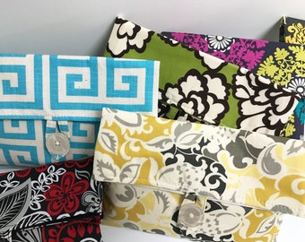 SALE // READY to SHIP // Assortment of 6 Makeup Bags