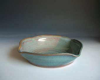 Hand thrown stoneware pottery small bowl  (SB-1)