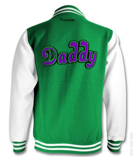 Daddy The Joker Varsity jacket