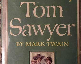 The Adventures of Tom Sawyer by Twain, 1946 Illus. By Donald McKay