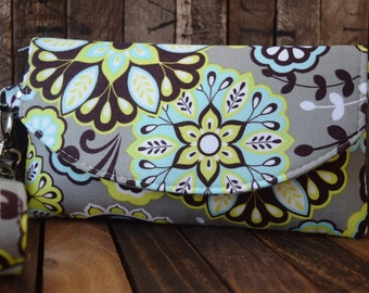 Everyday Wallet, Smart Phone Wallet,  Smart Phone Wallet,  Smart Phone Wallet, Bridesmaid Gift, Bridesmaid Clutch, Clutch