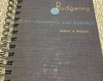 Budgeting JOURNAL