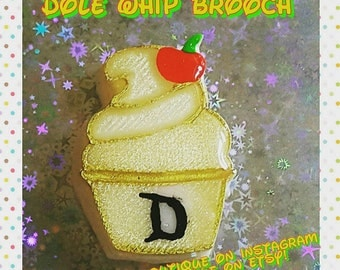 Disneyland Dole whip Brooch