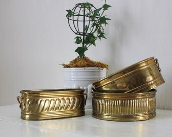 Brass Planter Collection