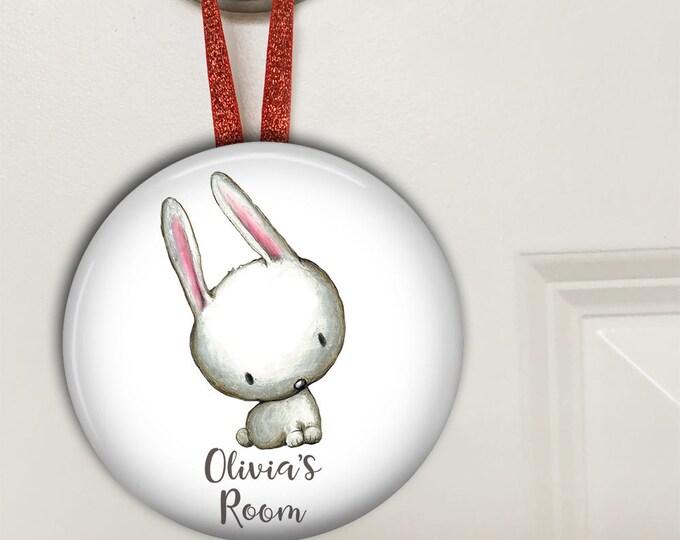 Bedroom door signs for kids - baby shower gift - personalized door hangers - personalized baby gifts