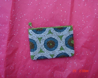 Vintage Small Bead Purse - Lovely