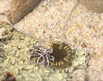 Octopus Live Simply Necklace