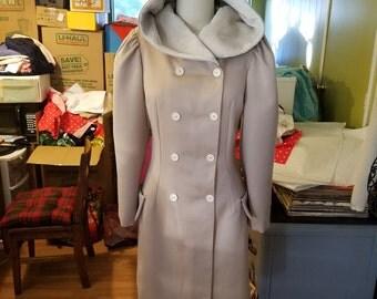 Vintage inspired wool coat medium