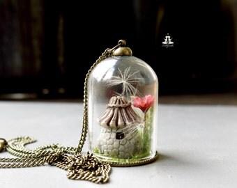 Terrarium Necklace - The Enchanted Garden