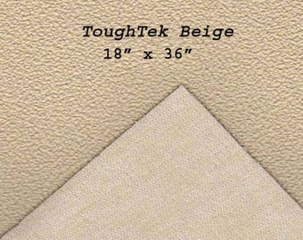 Toughtek Non slip Beige Fabric 18 by 36 inches