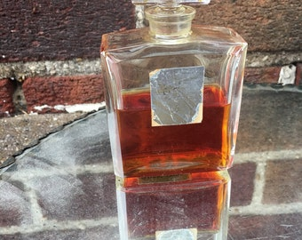 Antique Art Deco parfum made in france rare lucien lelong parfum