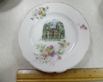 Belle Plaine Iowa plate, iowa souvenir, Belle plaines High School plate