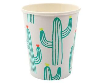 Cactus Paper Cups set of 12