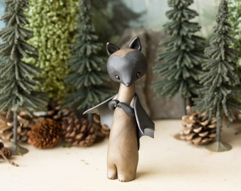 Flying Fox Bat by Bonjour Poupette
