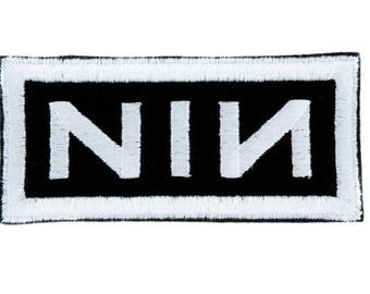 Nine Inch Nails Patch Iron on Applique Dark Alternative Clothing Trent Reznor NIN - YDS-EMPA - 065-Patch