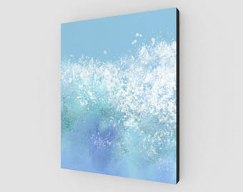 A Splash in the Pool Canvas Print (16x20in.)