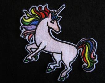 Embroidered Unicorn Iron On Patch, Unicorn Patch, Unicorn, colorful Unicorn, Iron On Patch, Iron On Applique, Iron On Unicorn