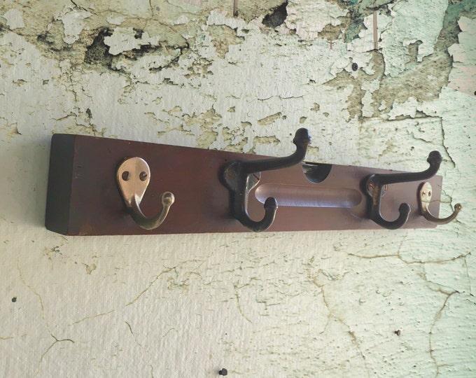 Vintage Carpenter Level Coat Rack