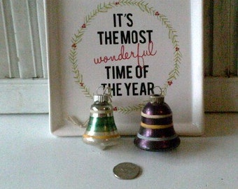 Vintage Antique Glass Christmas Ornaments Shiny Brites 0054