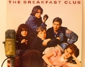 "ON SALE The Breakfast Club Vinyl Record LP 1980s Pop Culture Brat Pack Movie Soundtrack ""The Breakfast Club""(1985 A&M w""Don't You Forget Abo"