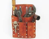 Vintage Klein 5126 Leather Tool Pouch - Tool Belt Pouch