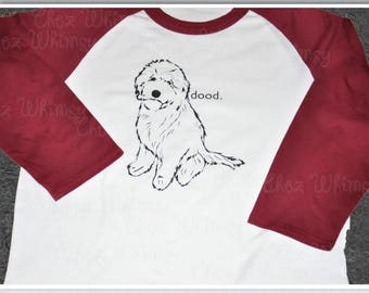 Goldendoodle Raglan, Dood Shirt, Love My Dood Shirt, Goldendoodle Tshirt, Golden Doodle Shirt, Doodle Mom Shirt, Doodle Dad Gift