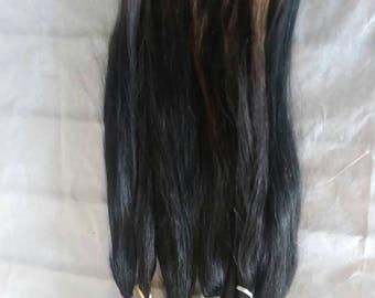 Doll Hair / BJD / MSD / Re root / Combed Suri Alpaca / Minifee / Reborn /  Wig / Supplies (5018)