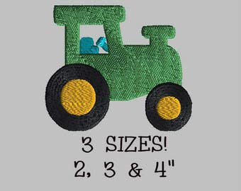 Buy 1 Get 1 Free! Tractor Embroidery Design Tractor Embroidery Pattern Mini Tractor Small Tractor Digital Design Digital File Farm Embroider