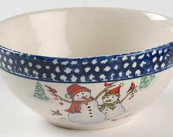 Christmas bowl | Etsy