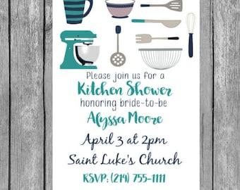 kitchen shower invitation-kitchen shower invitations, kitchen shower invite,kitchen shower,  invitations, invitation,invites, bridal shower