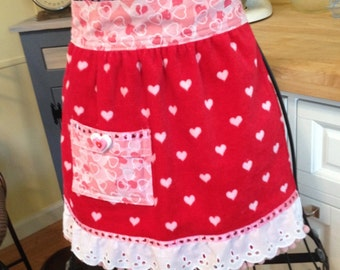 Sweetheart Terry Cloth Childs Waist Apron