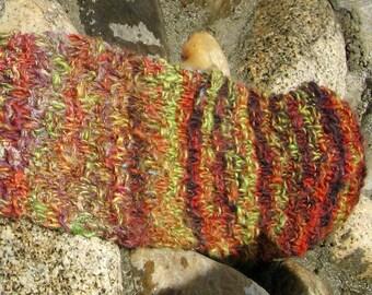 October Tones Wool Scarf