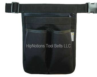 Ipad Otterbox Black Cordura Nylon 4 Pocket with Zipper HipNotions Tool Belt