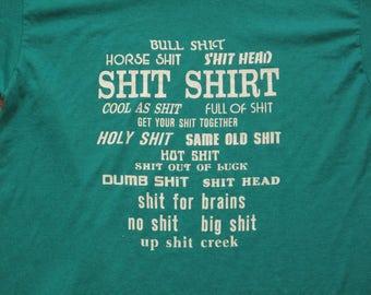 vintage Shit shirt