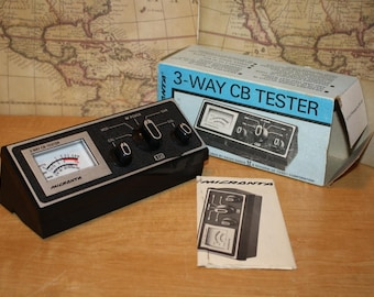 Micronta 3-Way CB Tester - Model 21-526A - item #2474