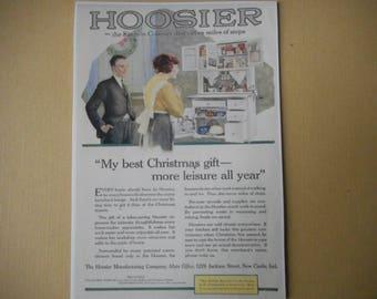 Hoosier Cabinet vintage advertisement  magnet