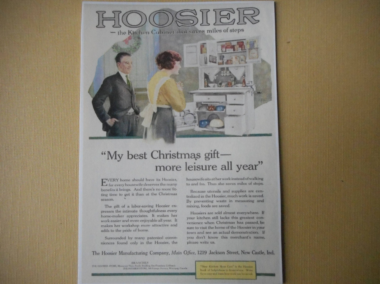 Apartment Size Hoosier Cabinet Hoosier Cabinet Etsy
