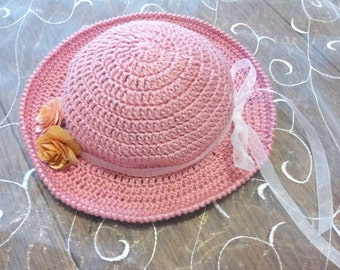 Crochet Pattern for Panama Hat /Sailor Hat  PDF Pattern