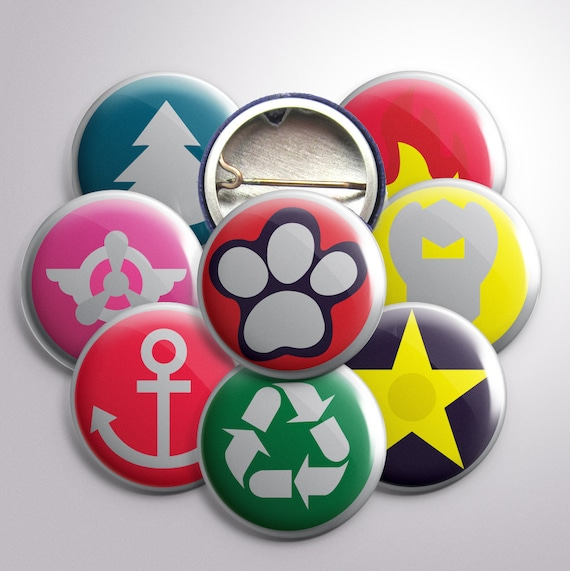 PAW Patrol Inspired Buttons, 1""