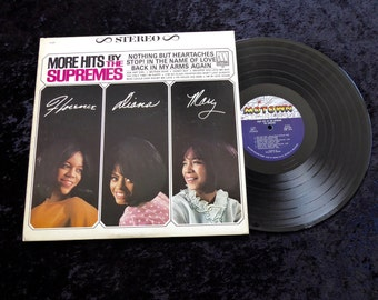 More Hits By the Supremes LP 1965  Motown Vinyl Lp Record Album Lp  Very Clean  S 627