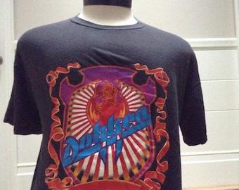 Vintage 1980s Dokken Concert Tshirt