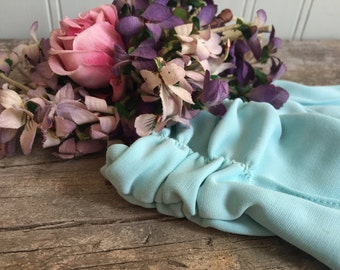 1950s Vintage Turquoise Gloves