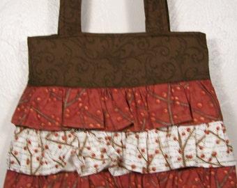 Berry Ruffle Bag