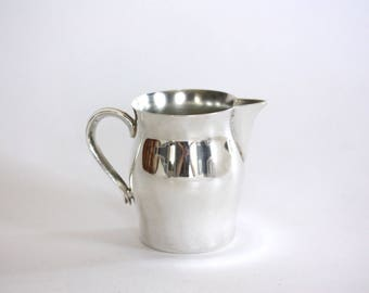Small Vintage Silver Plate Creamer, Vase, International Silver Company